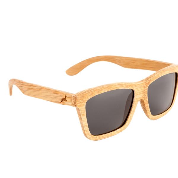 Holzkitz Holzbrille Sonnenbrille Holz Schneeberg Side