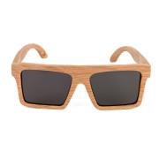 Holzkitz Holzbrille Sonnenbrille Holz Glatthorn Front