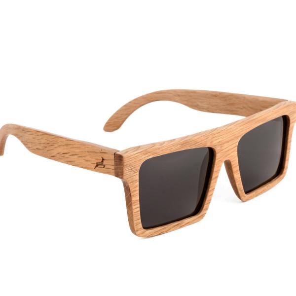 Holzkitz Holzbrille Sonnenbrille Holz Glatthorn Side