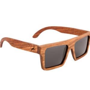 Holzkitz Holzbrille Sonnenbrille Holz Glatthorn2 Side